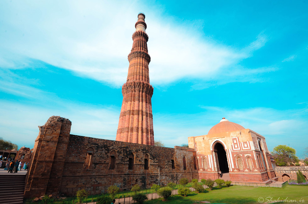 The Beautiful Minar